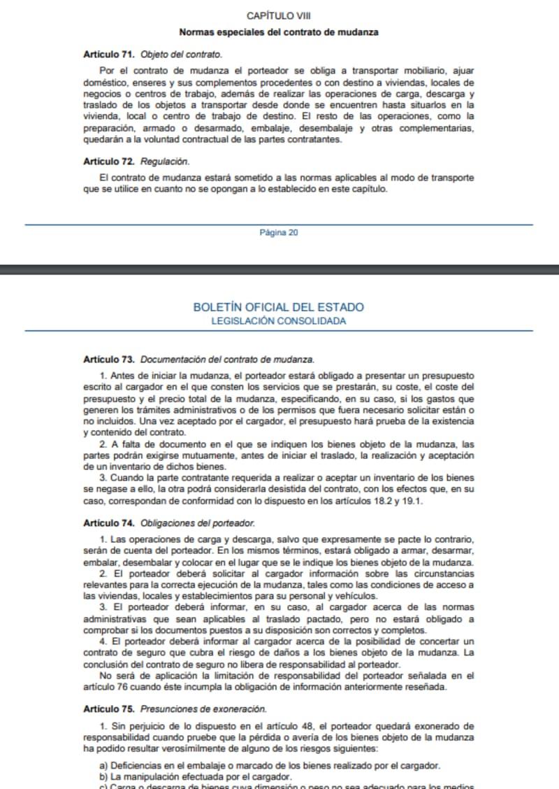 ley-transporte-normas-contrato-mudanzas